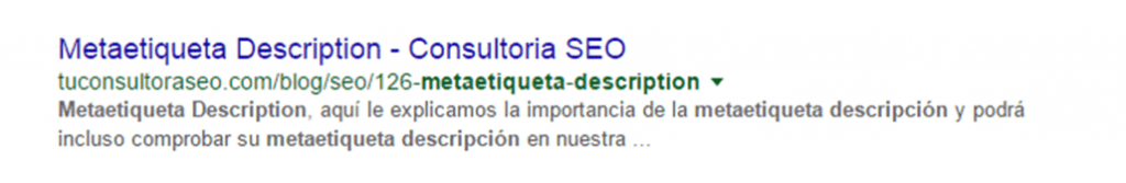 uso de keywords