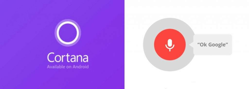 Cortana vs Google