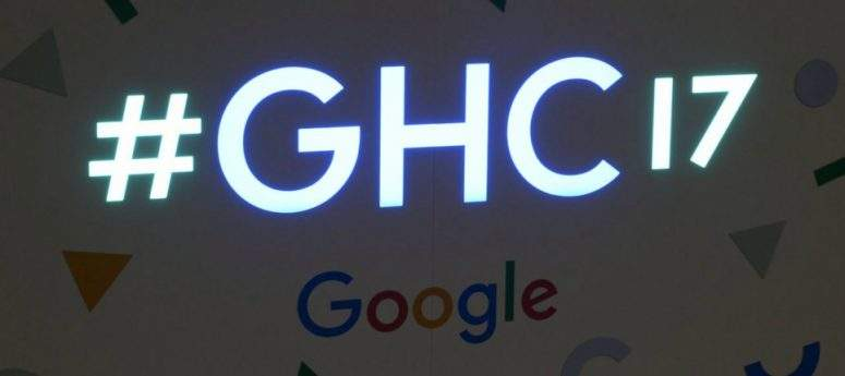 Google en Grace Hopper Celebration GHC17