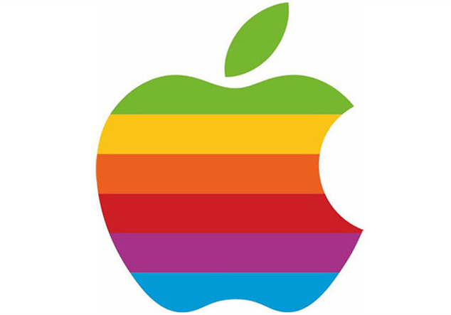 apple arcoiris