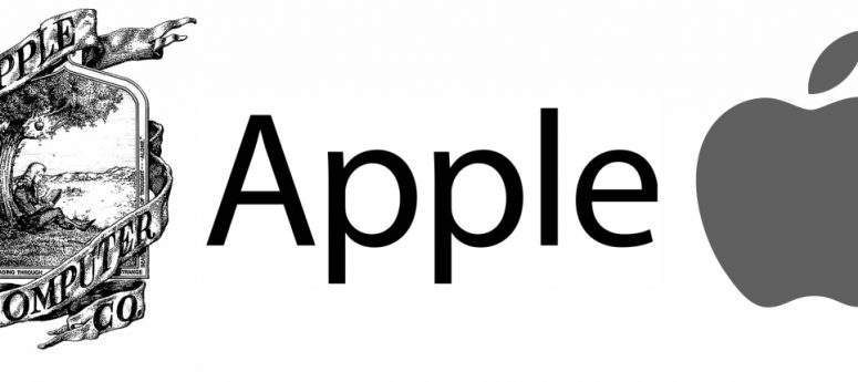 Evolución del logotipo de Apple